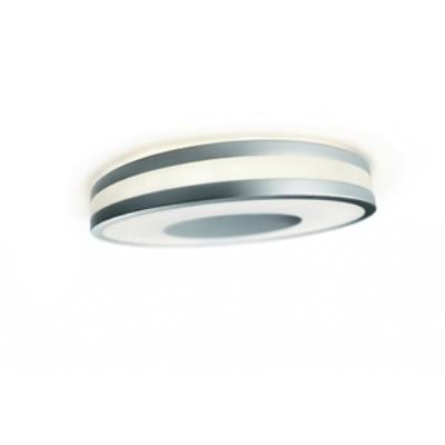 Philips Lighting 326104848 Fusion 1-Light Ceiling Lamp in Brushed Nickel finish