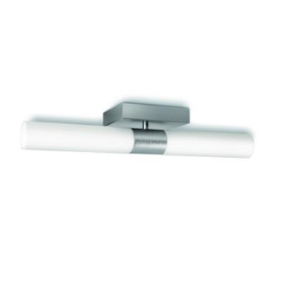 Philips Lighting 368014848 Equinox 2-Light Ceiling Lamp in Brushed Nickel finish