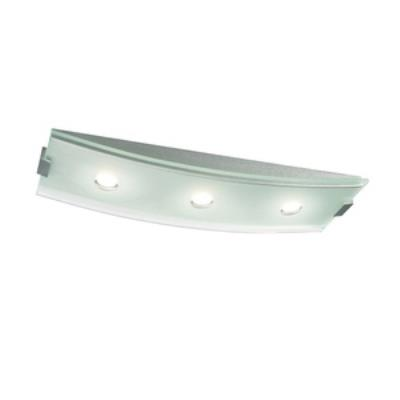 Philips Lighting 379464848 Altena 3-Light Ceiling Lamp in Brushed Nickel finish