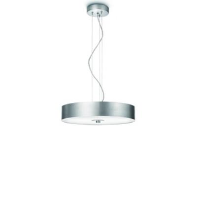 Philips Lighting 403394848 Fresco 1-Light Pendant Lamp in Brushed Nickel finish
