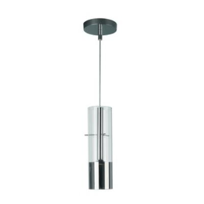 Philips Lighting 407151148 Tubuled 1-Light Pendant Lamp in Chrome finish