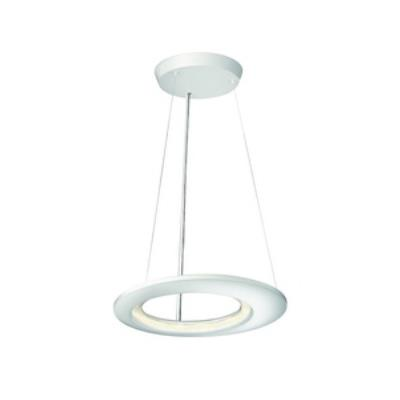 Philips Lighting 407563148 Ecliptic 12-Light Pendant Lamp in Matte White finish