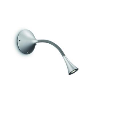 Philips Lighting 667048748 Flex 1-Light Wall Lamp in Grey finish