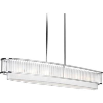 Progress Lighting P5027-104 Nisse - Six Light Oval Pendant