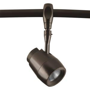"7.88"" 7W 1 LED Medium Flex Track Head with Mesh Design"