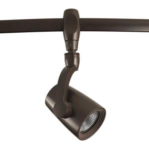 "7.88"" 7W 1 LED Flex Track Head with Arm Gimbal"