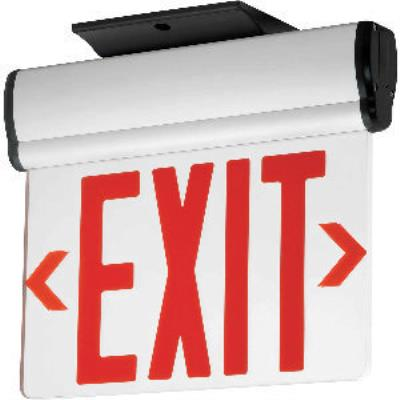 Progress Lighting PE013-30 Exit Sign with Red Colored Letters