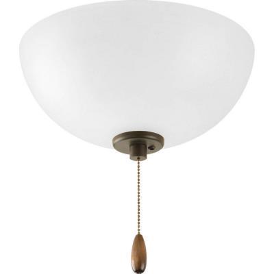 Progress Lighting P2650-20 Gather - Three Light Bowl Fan Kit