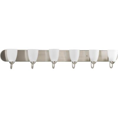Progress Lighting P2714-09 Gather - Six Light Bath Vanity