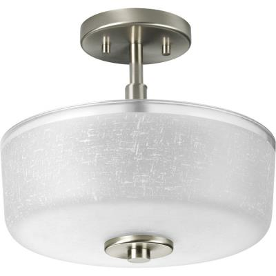 Progress Lighting P2851-09 Alexa - Two Light Semi-Flush Mount