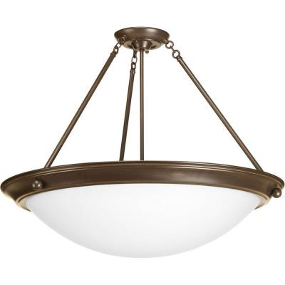 Progress Lighting P3485-20 Eclipse - Four Light Semi-Flush Mount