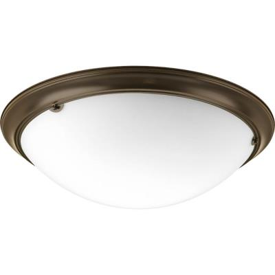 Progress Lighting P3491-20EB Eclipse - Four Light Semi-Flush Mount