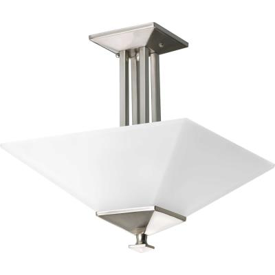 Progress Lighting P3597-09 North Park - Two Light Convertible Semi-Flush Mount