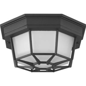 """Milford - 8.63"""" 17W 1 LED Outdoor Flush Mount"""