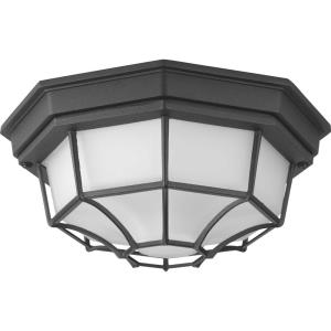 """Milford - 10.63"""" 17W 1 LED Outdoor Flush Mount"""
