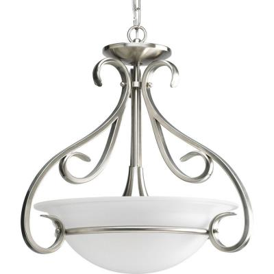 Progress Lighting P3843-09 Torino - Three Light Convertible Semi-Flush Mount