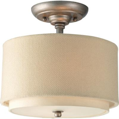 Progress Lighting P3886-134 Ashbury - Two Light Semi-Flush Mount