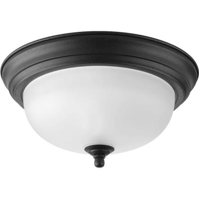 Progress Lighting P3924-80 Melon - One Light Flush Mount