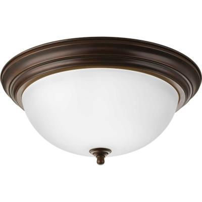 Progress Lighting P3926-20ET Three Light Flush Mount