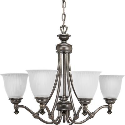Progress Lighting P4115-77 Five-Light Chandelier Fixture