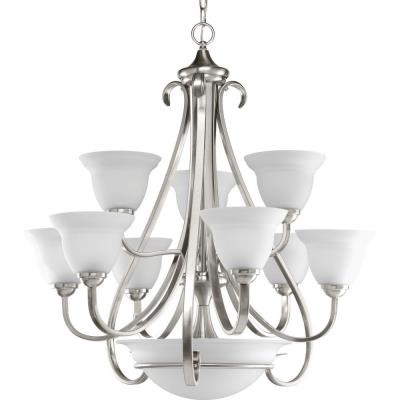 Progress Lighting P4418-09 Torino - Twelve Light Two Tier Chandelier - Chandelier