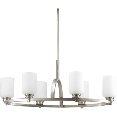 Progress Lighting P4662-09 Orbitz - Six Light Oval Chandelier