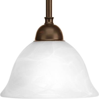 Progress Lighting P5068-20 Avalon - One Light Stem Hung Mini-Pendant