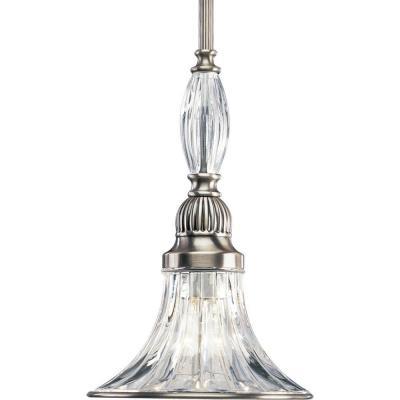 Progress Lighting P5100-101 Roxbury - One Light Mini-Pendant