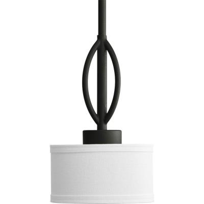 Progress Lighting P5118-80WB Calven - One Light Mini-Pendant
