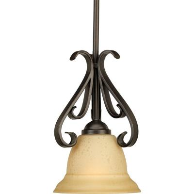 Progress Lighting P5153-77 Torino - One Light Mini-Pendant