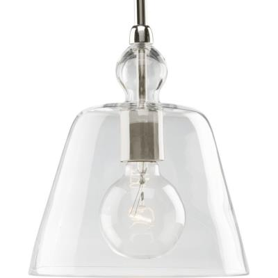 Progress Lighting P5184-104 One Light Mini-Pendant