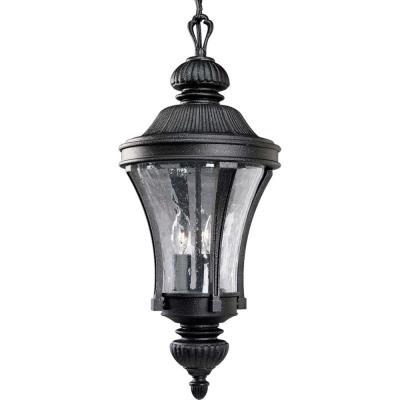 Progress Lighting P5538-71 Nottington -  Three-light hanging lantern