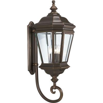 Progress Lighting P5673-108 Crawford - Four Light Outdoor Wall Lantern
