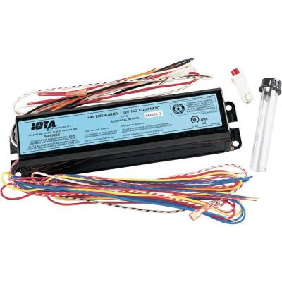 Progress Lighting P8698-01 Emergency Fluorescent Ballast Accessory For Remote Mounting