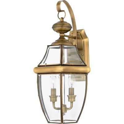 Quoizel Lighting NY8317 Newbury - Two Light Large Wall Lantern