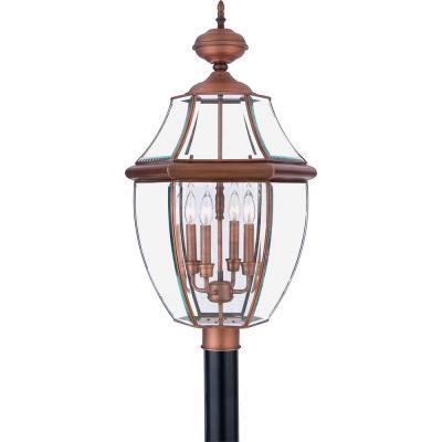 Quoizel Lighting NY9045 Newbury - Four Light Extra Large Post Lantern