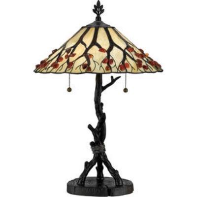 Quoizel Lighting AG711TVA Agate Portable - Two Light Table Lamp
