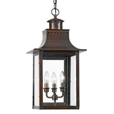 Quoizel Lighting CM1912AC Chalmers - Three Light Hanging Lantern