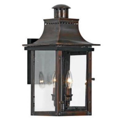 Quoizel Lighting CM8410AC Chalmers - Two Light Wall Lantern