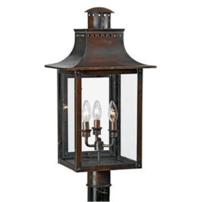 Quoizel Lighting CM9012AC Chalmers - Three Light Post Lantern