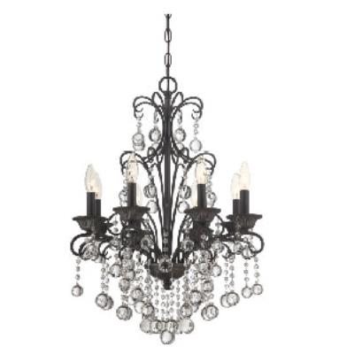 Quoizel Lighting CRE5008FR Carrabelle - Eight Light Chandelier