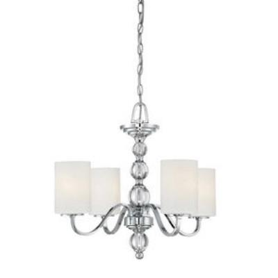 Quoizel Lighting DW5004C Downtown - Four Light Chandelier