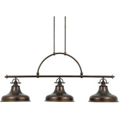 Quoizel Lighting ER353PN Emery - Three Light Island Chandelier