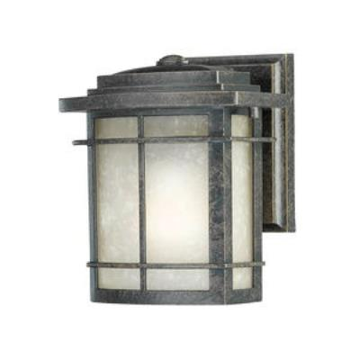 Quoizel Lighting GLN8407IB Galen - One Light Outdoor Wall Lantern