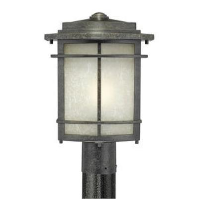 Quoizel Lighting GLN9010IB Galen - One Light Outdoor Post Lantern