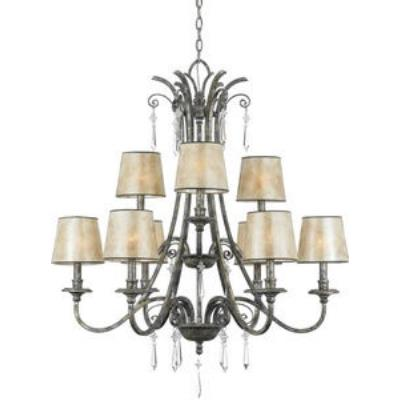 Quoizel Lighting KD5009MM Kendra - Nine Light Chandelier