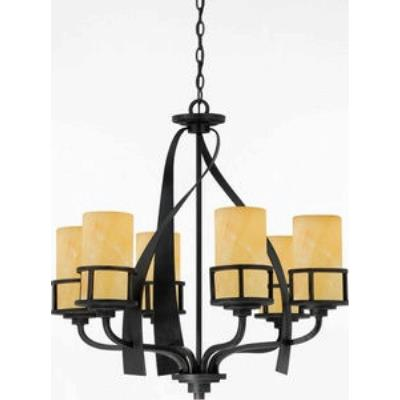 Quoizel Lighting KY5006IB Kyle - Six Light Chandelier