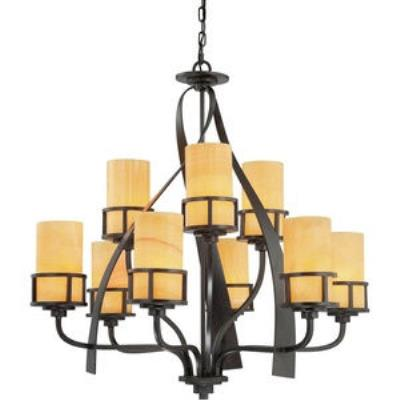 Quoizel Lighting KY5009IB Kyle - Nine Light Two Tier Chandelier