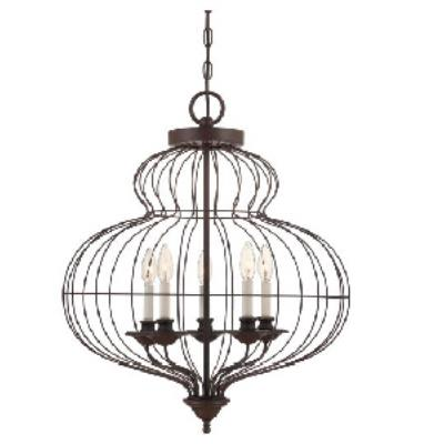 Quoizel Lighting LLA5205RA Laila - Five Light Pendant