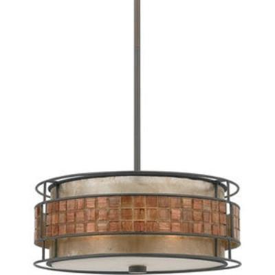 Quoizel Lighting MC842C Mica - Three Light Pendant